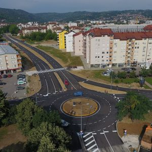New section of east transit road put into operation