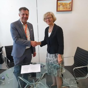 Mayor Radojičić signs mandate letter and term sheet with EBRD for construction of new water plants