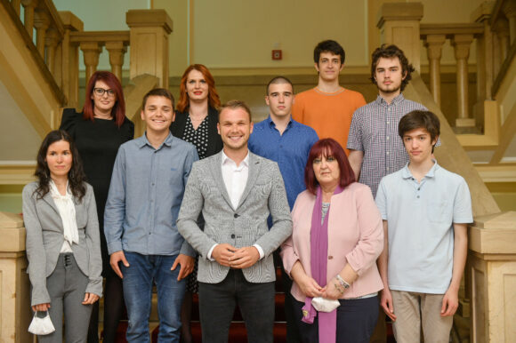 Better than any other metropolis: Banja Luka Grammer School students von a handful of medals