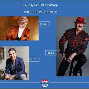 New Year celebration with regional music stars
