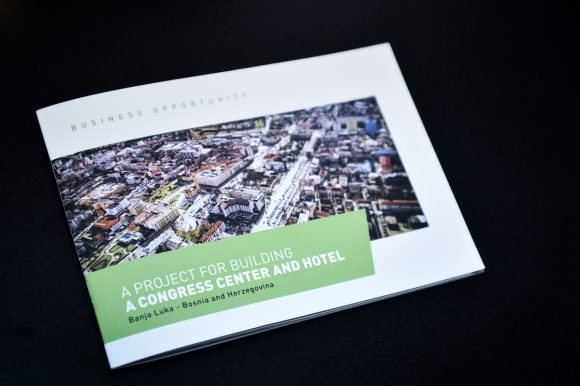 Announcement of competition for congress center concept design in March